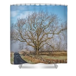 Shower Curtain featuring the photograph The Guardian by Jeremy Lavender Photography