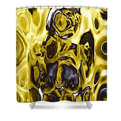The Guardian Shower Curtain by Kurt Van Wagner