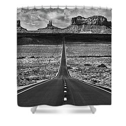 The Gump Stops Here Shower Curtain by Darren White