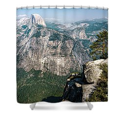 The Half Dome Yosemite Np Shower Curtain
