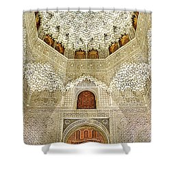 The Hall Of The Arabian Nights 2 Shower Curtain