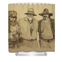 The Halloweeners Shower Curtain