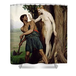 The Hamadryad Shower Curtain by Emile Bin
