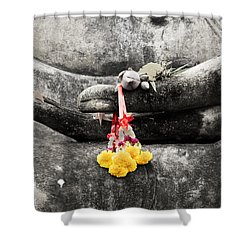 The Hand Of Buddha Shower Curtain