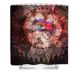 The Harbinger Shower Curtain