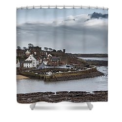 The Harbour Of Crail Shower Curtain