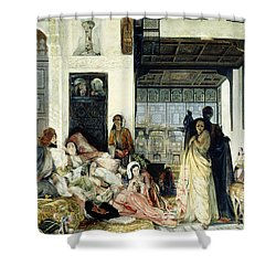 The Harem Shower Curtain by John Frederick Lewis