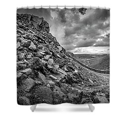 The Hare's Gap Shower Curtain