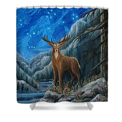 the Hart Shower Curtain