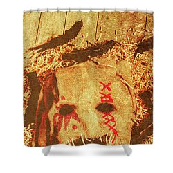The Harvester Shower Curtain
