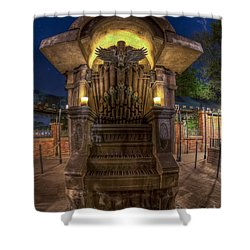 The Haunted Organ Shower Curtain