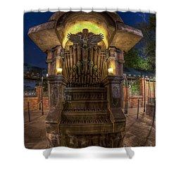 The Haunted Organ Shower Curtain
