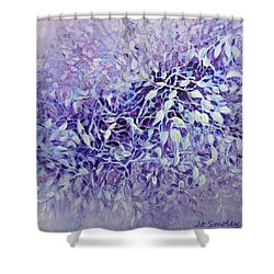 The Healing Power Of Amethyst Shower Curtain