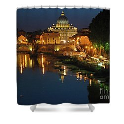 Eternal Sound Of Rome Shower Curtain