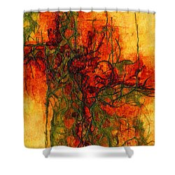 The Heart Of The Matter Shower Curtain