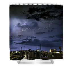 The Heavens Attack Shower Curtain