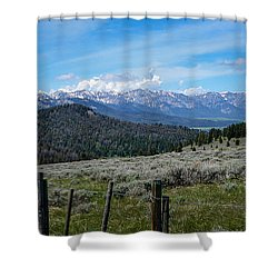 The High Divide  Shower Curtain
