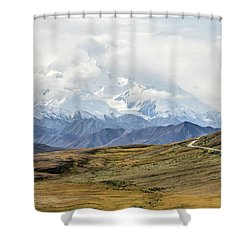 The High One - Denali Shower Curtain