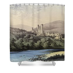 The Highland Home, Balmoral Castle Shower Curtain