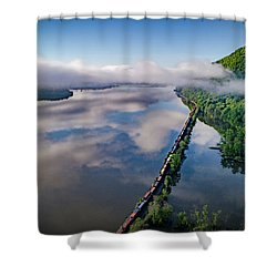The Highlands Looking South Shower Curtain