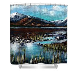 The Highlands - Scotland Shower Curtain