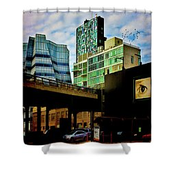 The Highline Nyc Shower Curtain