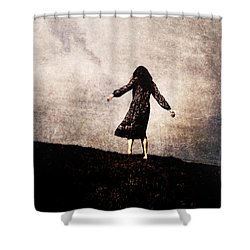 The Hill Shower Curtain