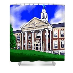 The Hill Shower Curtain by Jean Pacheco Ravinski