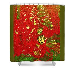 The Holidays Shower Curtain