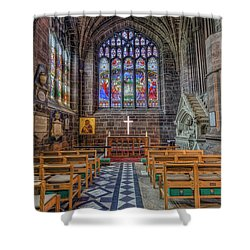 Shower Curtain featuring the photograph The Holy Cross by Ian Mitchell