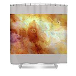 The Holy Trinity Shower Curtain