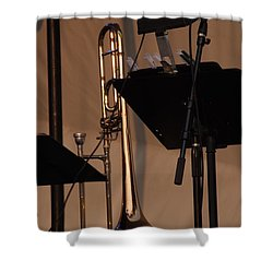 The Horn Shower Curtain