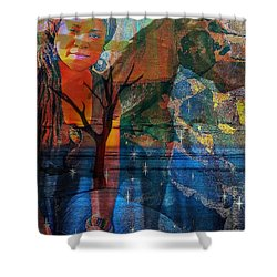The Horse And Me Shower Curtain