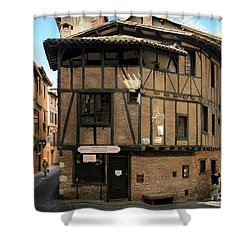 The House Of The Old Albi Shower Curtain by RicardMN Photography