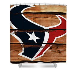 The Houston Texans 18a Shower Curtain