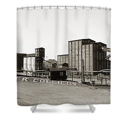 The Huber Colliery Ashley Pennsylvania 1953 Shower Curtain