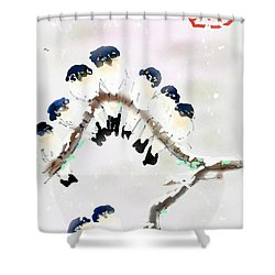 The Huddle Shower Curtain