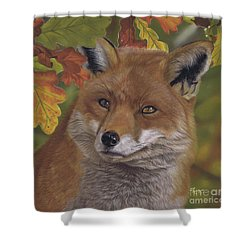The Hunt For Red October Shower Curtain