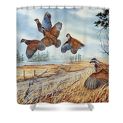The Hunt  Sold Shower Curtain