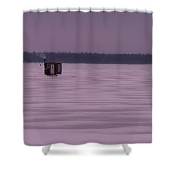 The Hut II Shower Curtain