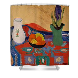 The Hyacinth  By Bill O'connor Shower Curtain