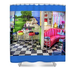 The Ice Cream Shoppe In Duval, Wa Shower Curtain