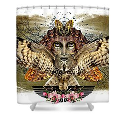 The Illusion Was Exposed Shower Curtain