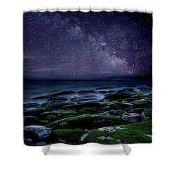 The Immensity Of Time Shower Curtain