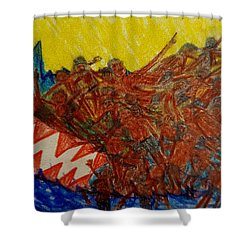 The Immigrant Journey Last Shower Curtain