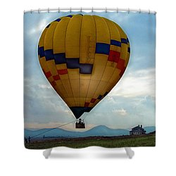 The Impressionable Balloon Shower Curtain