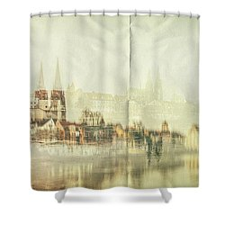The Imprint Shower Curtain