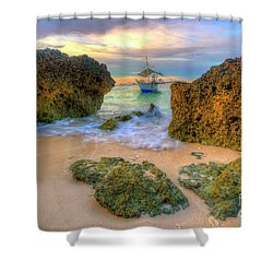 Shower Curtain featuring the photograph The Inbetweener by Yhun Suarez