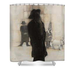 The Incongruity Of It All  Shower Curtain by Jean Cormier