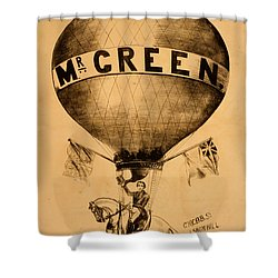 The Incredible Mr. Green Shower Curtain